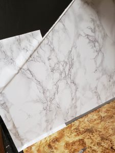 how to install contact paper countertops