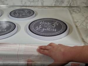 contact paper countertops around stove