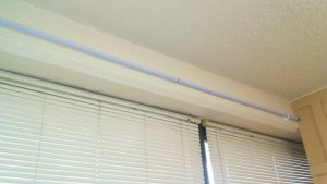 Dollar Tree DIY Curtain Rod & Brackets 3