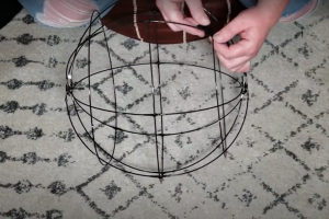 Outer Rings On Pendant Frame