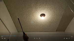 how to remove popcorn ceilings easily