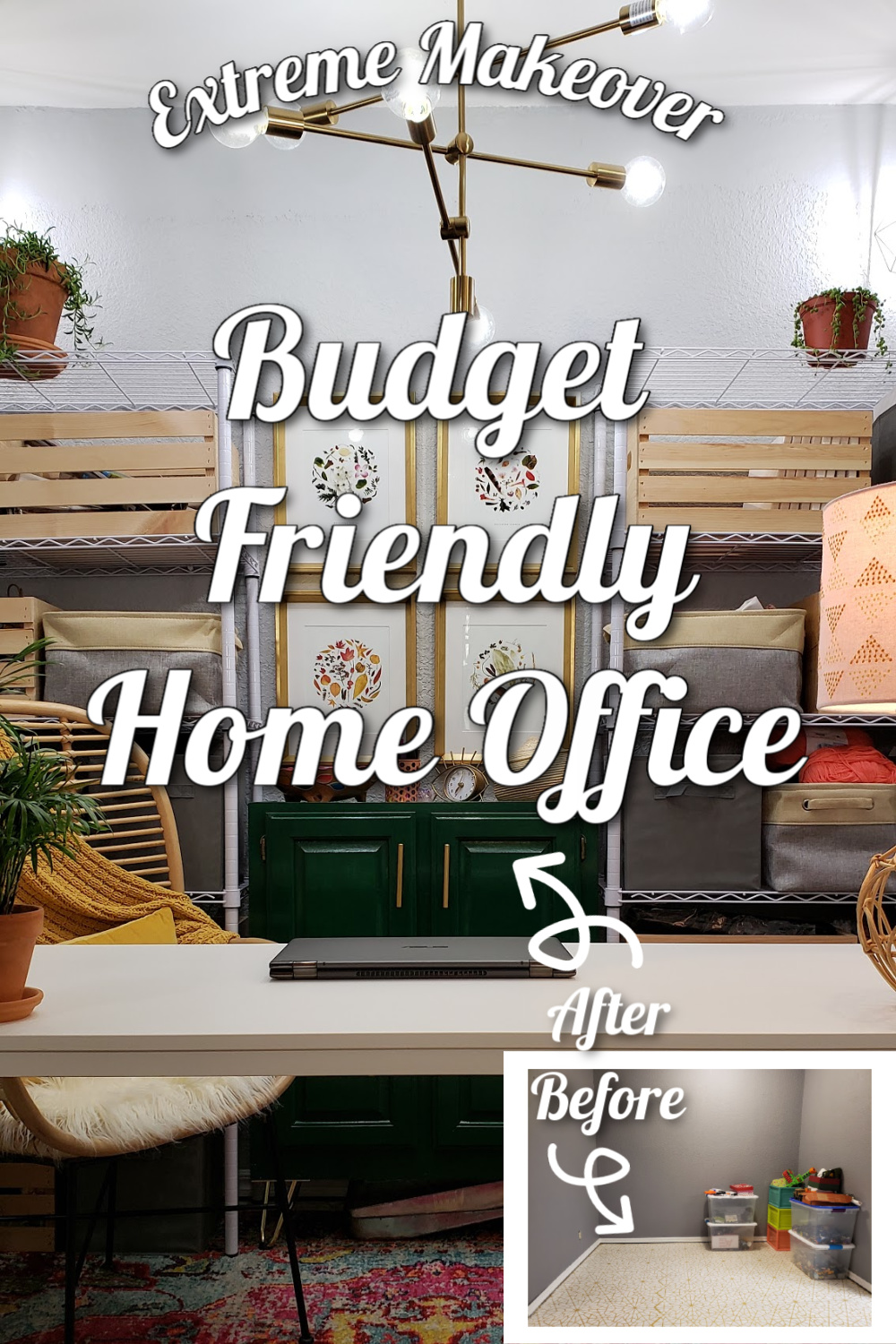 budget friendly home office pin 2