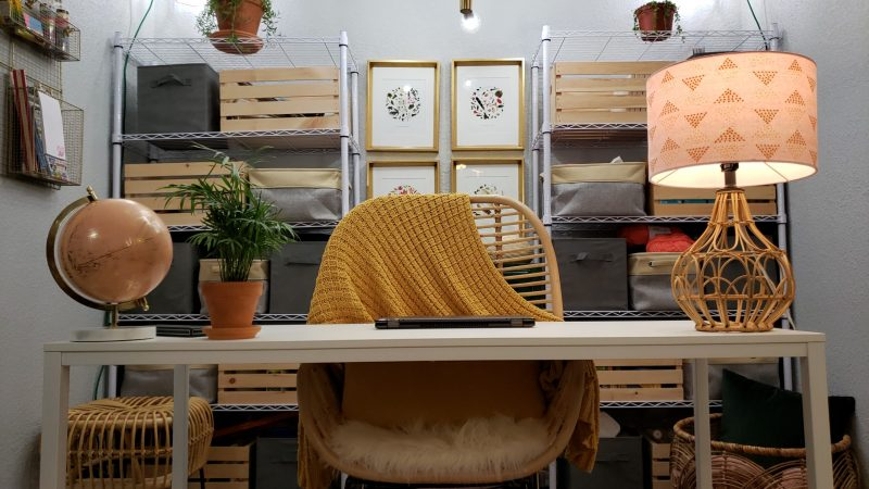 Read more about the article Budget Friendly Home Office – Before And After