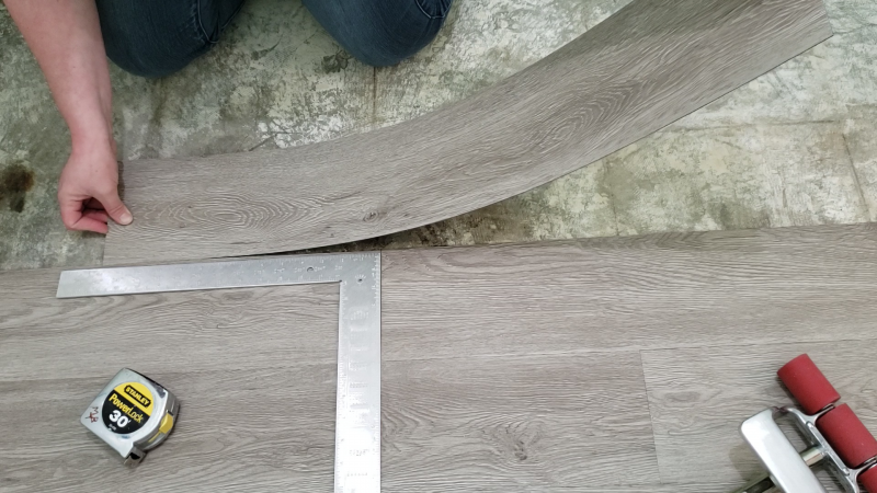 How To Install L And Stick Vinyl, How To Install Vinyl Flooring Planks On Concrete