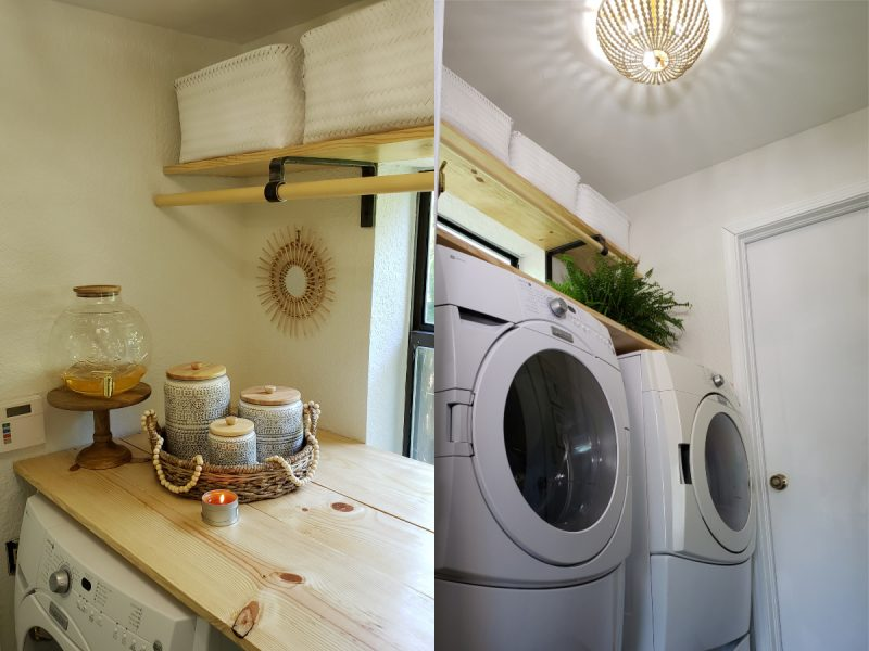 Laundry Room Makeover Under 300