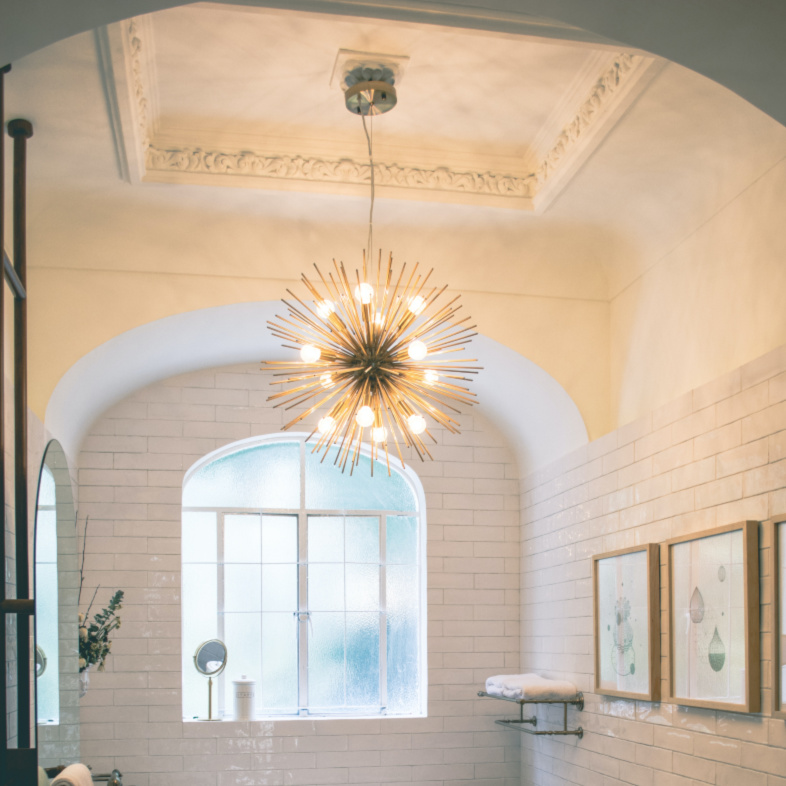 Gold Mid-Century Chandeliers You Have To See
